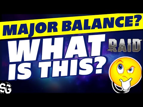 MAJOR BALANCE CHANGES IN RAID SHADOW LEGENDS WHAT ARE PEOPLE TALKING ABOUT?