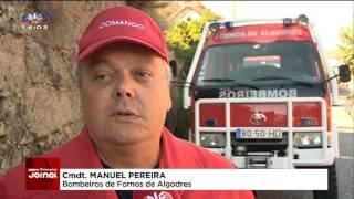Fornos de Algodres cancela fogo de artifício e dá dinheiro aos bombeiros