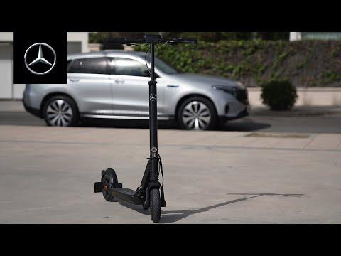 The New Mercedes-Benz eScooter – Last Zero-Emissions Mile