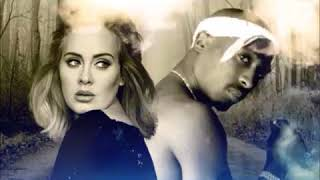 2Pac - Set Fire To The Rain Ft Adele (NEW) 2018