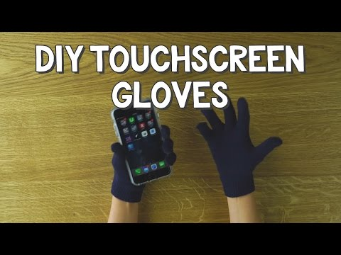 DIY Touchscreen Gloves - DIY$ by Perk