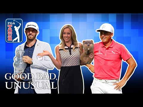 DJ?s hole-out FTW, a Caddyshack cameo & Rickie?s proposal