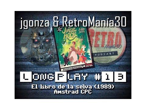 El Libro de la Selva - Amstrad CPC Longplay