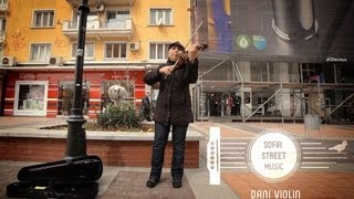 Mozart - Turkish March - by Dani Violin - Sofia Street Music