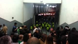 Ultras SCP antes da entrada no estádio !