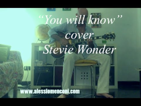 """You will know""-  Stevie Wonder -  cover"