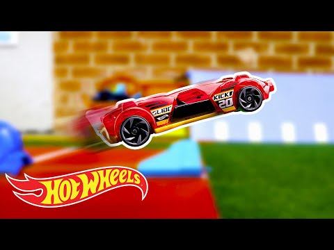 How Far Can Hot Wheels Fly? | Labs Unlimited | Hot Wheels