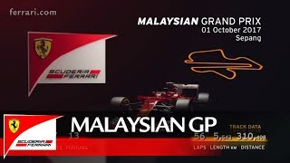 Malaysian Grand Prix Preview – Scuderia Ferrari 2017