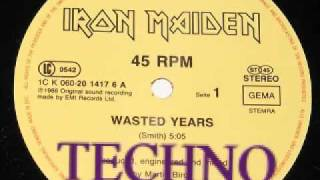 Wasted years techno