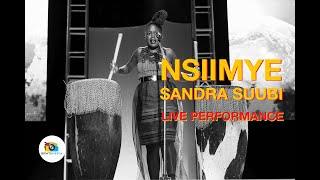 Sandra Suubi  - Nsiimye (Live Performance) Brinte Media