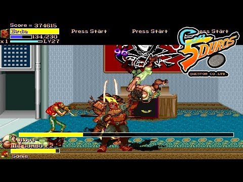 "FINAL FIGHT LNS 3.0.1/ULTIMATE ""Capcom All Starts"" ""Musou"" (""Primera partida programando a Birdie"")"