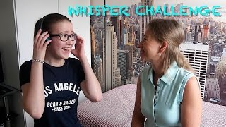 WHISPER CHALLENGE   ШЕПОТ ЮТУБЕРА (С МАМОЙ)