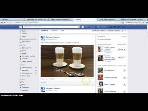 Facebook vkladač, hľadač - program