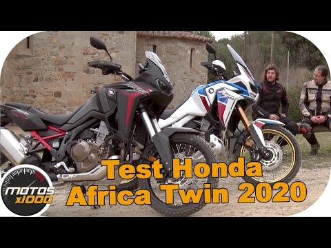 Test Honda CRF1100L Africa Twin 2020    Motosx1000
