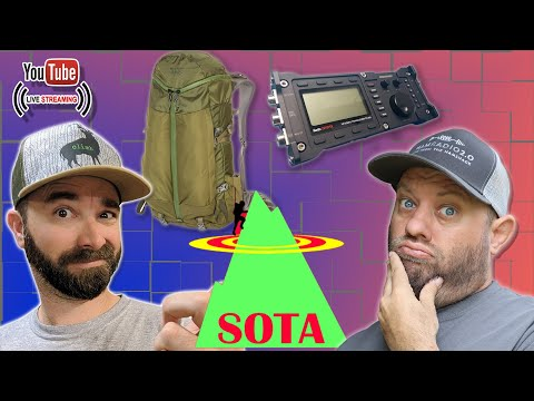 Packing for a Ham Radio SOTA Trip with K6ARK - Summits On The Air