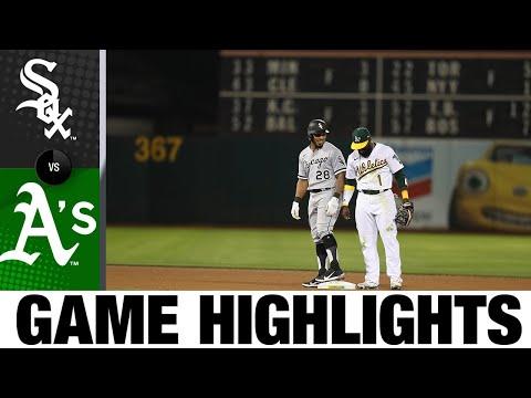 White Sox vs. A's Game Highlights (9/7/21)   MLB Highlights