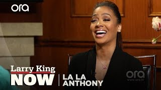 La La Anthony On First Nude Scene, Carmelo's Reaction (VIDEO) | Larry King Now | Ora.TV