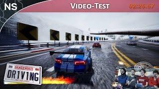Vidéo-Test : Dangerous Driving | Vidéo-Test PS4 (NAYSHOW)