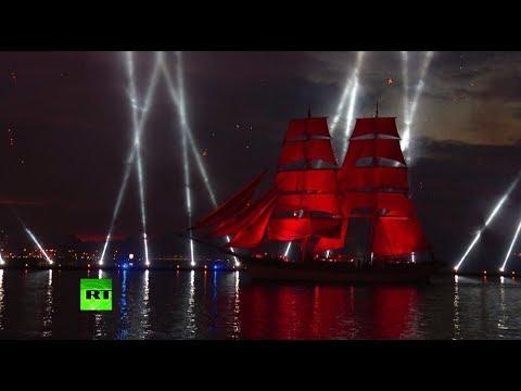 Под «Алыми парусами»: в Санкт-Петербурге прошёл праздник выпускников
