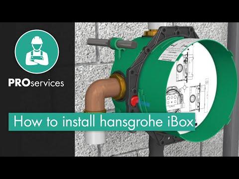 hansgrohe iBox universal Installation