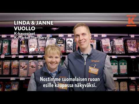 Joskus parhaat ideat syntyvät aamiaispöydässä. K-Market Merikarvian kauppiaat Janne ja Linda Vuollo saivat oivalluksen ja päättivät helpottaa kotimaisten tuotteiden löytämistä kaupan hyllyltä.  K-ryhmä on suomalainen kaupan alan edelläkävijä. Toimimme päivittäistavarakaupassa, rakentamisen ja talotekniikan kaupassa sekä autokaupassa. Toimialamme ja ketjumme toimivat tiiviissä yhteistyössä kauppiasyrittäjien sekä muiden kumppaneiden kanssa. Kesko ja K-kauppiaat muodostavat K-ryhmän.  K - Jotta kaupassa olisi kiva käydä.   Lue lisää:  www.kesko.fi https://kesko.fi/vuosiraportit https://kesko.fi/annual-reports  Seuraa meitä sosiaalisessa mediassa: Facebook: https://www.facebook.com/Kryhma/ Twitter: https://twitter.com/kryhma Instagram: https://www.instagram.com/kryhma/ LinkedIn: https://www.linkedin.com/company/kesko