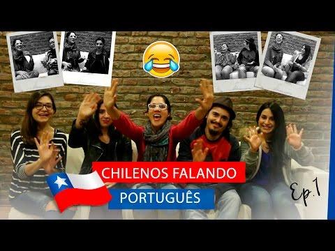 Desafio do Idioma: Chilenos falando Português - Ep.1| La Mirada Chilena