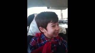 24 horas - Luan Santana - Lucas cantando