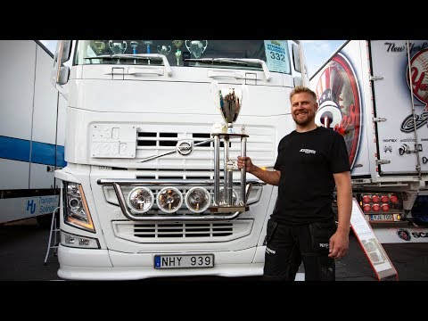 Volvo Trucks - Meet the meanest, cleanest truck on the block! - ?Welcome to my cab - light?