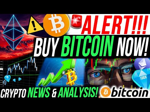 ALERT!!🚨BUY BITCOIN NOW!! BITCOIN DOMINANCE RECOVERY! MY M ETHEREUM TRADE! CRYPTO NEWS & ANALYSIS!