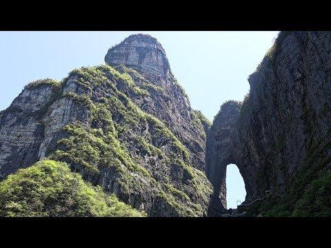 Tianmen Mountain, Zhangjiajie, Hunan, China in 4K Ultra HD
