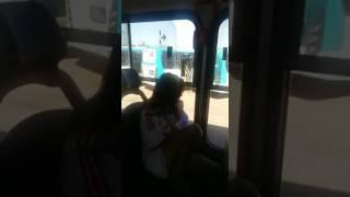 Menina de 12 anos esfaqueia motorista de ônibus em samambaia