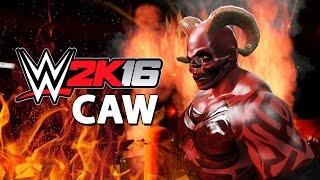 WWE 2K16 - CAW - Satan width=