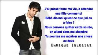 Let me be your lover-Enrique Eglesias feat Pitbull traduction en francais