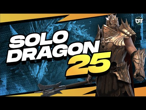 🐲 SOLO DRAGON 25 TOMB LORD! & What Stats You NEED! | RAID Shadow Legends