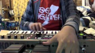 MGMT - Kids (cover) Microkorg with RC30 loop station