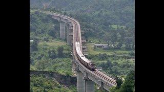 Top 5World's most Extreme railways : dangerous train route and bridges