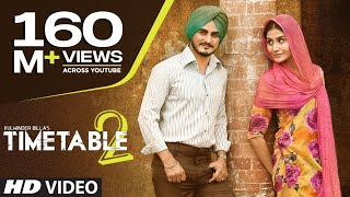 Kulwinder Billa Time Table 2 (ਟਾਈਮ ਟੇਬਲ 2) Full Video | Latest Punjabi Song 2015 width=