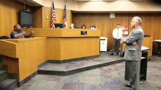 Court drama during cross examination of double murder victims father