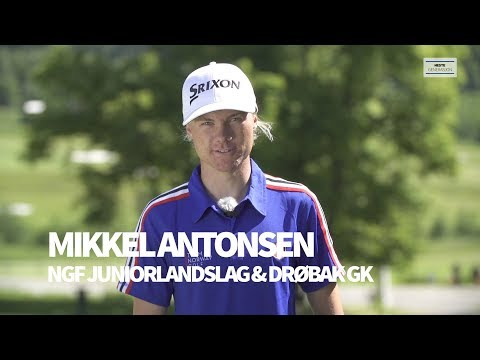 Mikkel Antonsen - golf