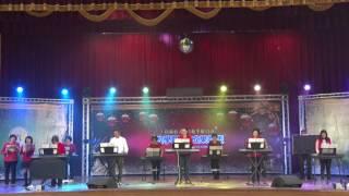34th成果發表會流行電子琴輕鬆彈基礎班詹蕙安師生表演