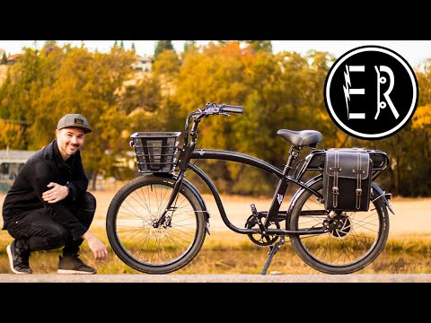 100 MILE RANGE + 1,200 WATTS OF POWER!!! Electric Bike Company Model C electric bike review