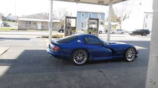 Dodge Viper twin turbo 2 step