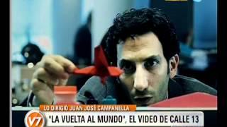 """Visión Siete: """"La vuelta al mundo"""", el video de Calle 13"""