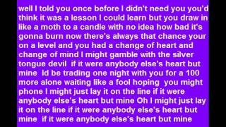 Terri Gibbs Anybody Else's Heart But Mine ( Lyrics )