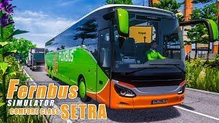 FERNBUS SIMULATOR Platinum #71 - Unterwegs mit der SETRA ComfortClass - Setra S519 HD