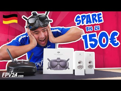 AKTION: DJI Digital FPV System – SPARE bis zu 150 Euro!
