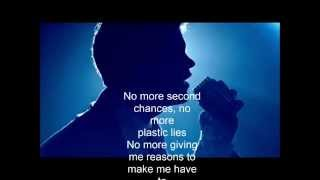 No More Second Chances -  MKTO Feat  Jessica Ashley (Lyric Video)
