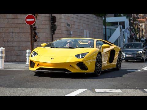Supercars in Monaco 2020 - VOL. 15 (LB Walk 458, Capristo Aventador SV, 918 Spyder, Mansory Bentley)