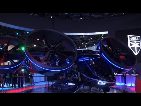 Flying vehicles at the CES...well, almost