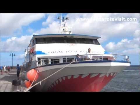 Lanzarote To Graciosa By Ferry (Barco Lanzarote a Graciosa)